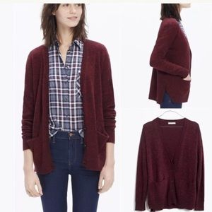 Madewell Landscape Cardigan Sweater Button down